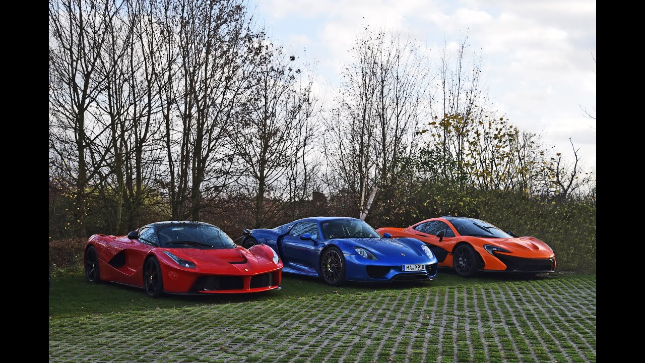 Holy Trinity Laferrari Spyder Unique Colour Combination