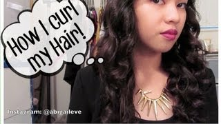 ♡ How I Curl My Hair! ♡ Thumbnail