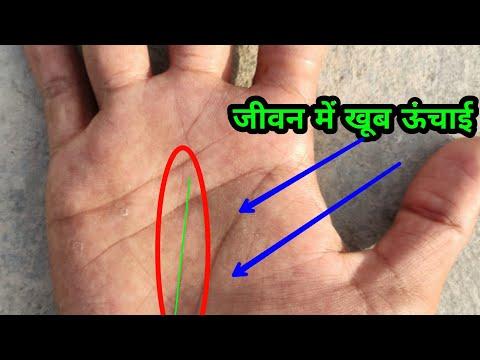 #palmistry #hastrekha !!! जीवन में खूब ऊंचाई तक ले जाती है ऐसी हस्त रेखा