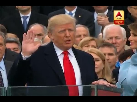 Donald Trump takes oath as 45th US President - YouTube