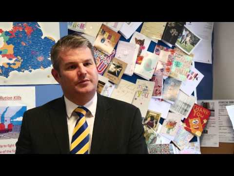 Interview with Stuart Andrew MP