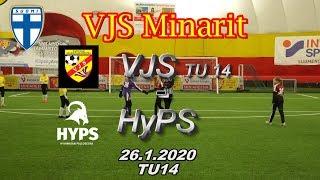 VJS Minarit TU14 VJS TU14 vs HyPS 06/07 26.1.2020