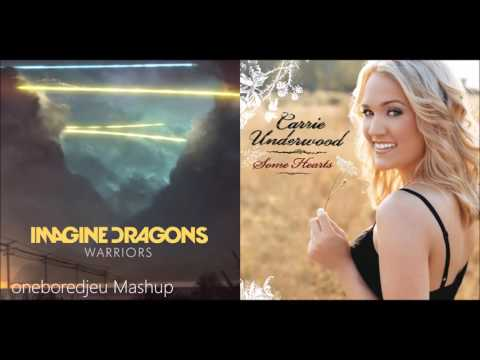 Cheating Warriors - Imagine Dragons vs. Carrie Underwood (Mashup)