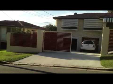 Telescopic Sliding Gate On A Slope Youtube