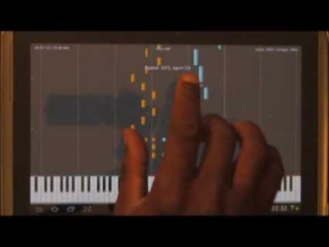 Learn to play piano on Android with Midi Melody(Tutorial)