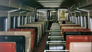 Abandoned New York Train (untouched 1990s)