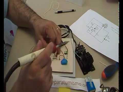 COMO HACER UN MONTAJE ELECTRONICO SIN PCB - COMPROBADOR PLANCHA DE ROPA