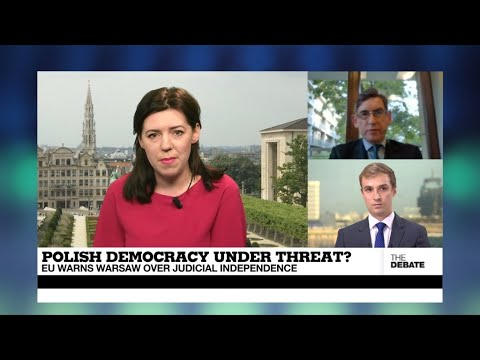 THE DEBATE - Polish democracy under threat? EU warns Warsaw over judicial independence
