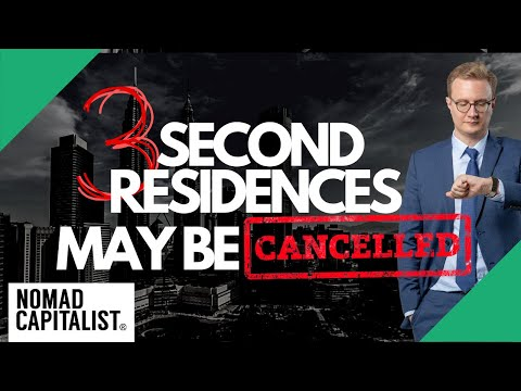 Three Second Residences Going Away in 2020