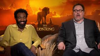 THE LION KING interviews - Donald Glover, Billy Eichner, Seth Rogen, Favreau, Ejiofor, Woodard