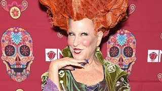 "Bette Midler Brings Back ""Hocus Pocus"" Character for Halloween"