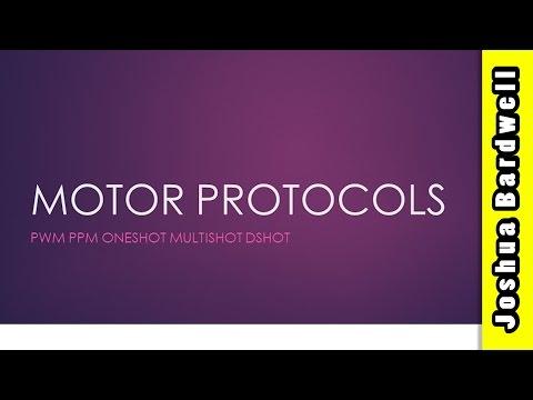 What Is Dshot MultiShot OneShot and PWM | ESC MOTOR PROTOCOLS - PART 1