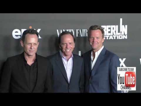 Dean Winters, Scott Winters and Bradford Winters at the Premiere Of EPIX's Berlin Station at Milk St