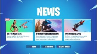 Fortnite News Update Todays Unvaulted Weapon, Bottle Rockets, New LTM Strategic Structures,
