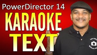 CyberLink PowerDirector 14 Ultimate | Karaoke Tutorial