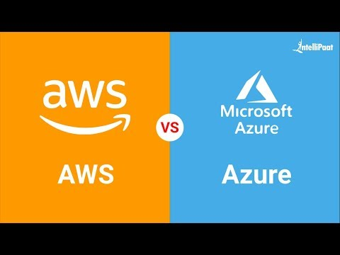 AWS vs Azure – What Should I learn in 2019? | Difference Between AWS and Azure | Intellipaat