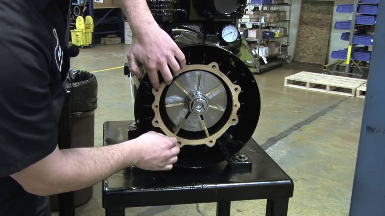 Nve Challenger 607 Pump Maintenance And Vane Replacement