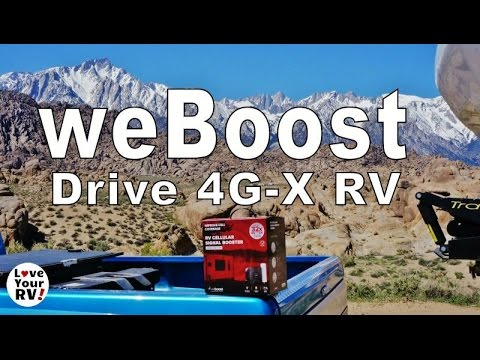 weBoost Drive 4G-X RV Cell Booster Install and Review