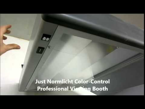 Just Normlicht Color Control Professional Viewing Booth
