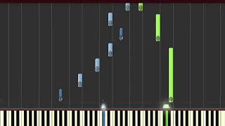 Tutorial piano yiruma - Wait There (synthesia)