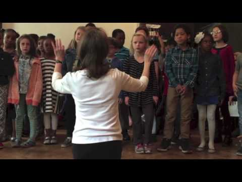 "Manhattan Country School 7-8s Sing ""I am a Small Part of the World"""
