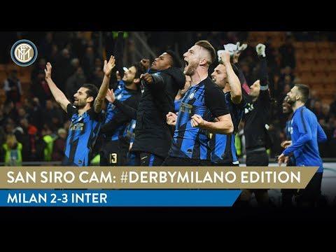MILAN 2-3 INTER | SAN SIRO CAM | EXCLUSIVE #DERBYMILANO FOOTAGE!