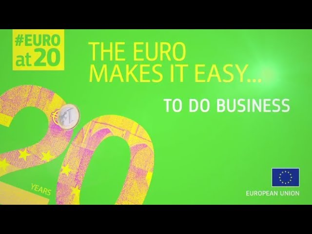 #EUROat20: The euro makes it easy to do business