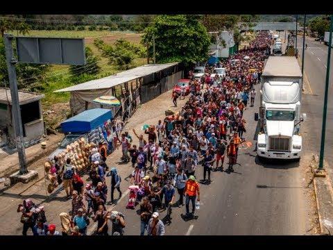 migrant caravan reignites immigration issue
