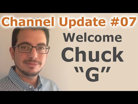 "Channel Update #7 - Please Welcome Chuck ""G"" To The Cryptocurrency Market Channel - By Tai Zen"
