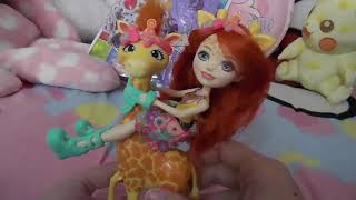 Enchantimals Gillian Giraffe Doll Set