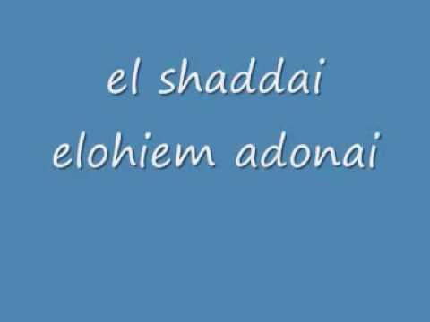 gewissheit net   ELSHADDAI ELOHIM ADONAI