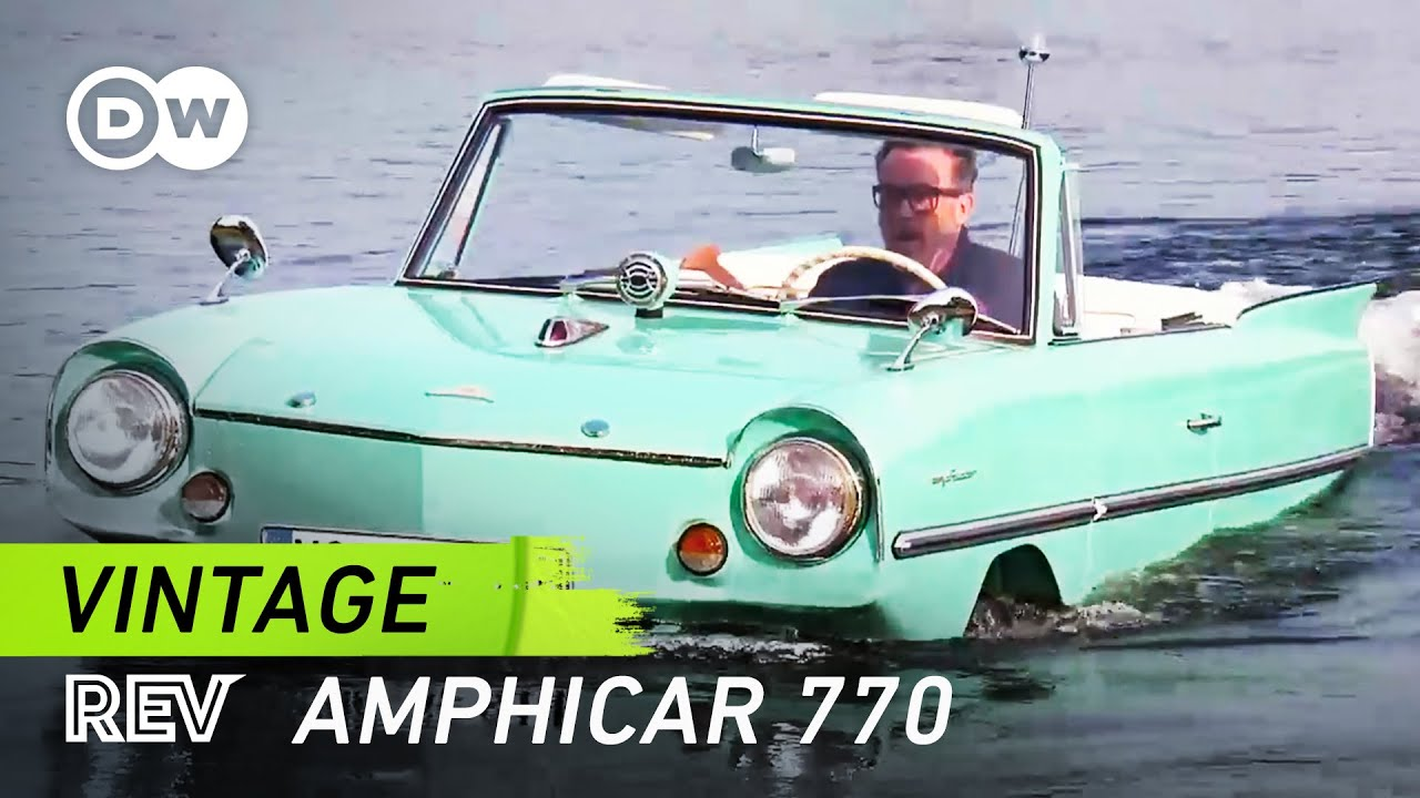First mass-produced amphibious car | DW English - YouTube