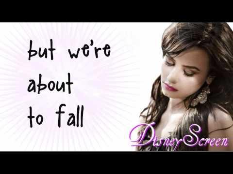 Demi Lovato - Falling Over Me (Lyrics On Screen) HD