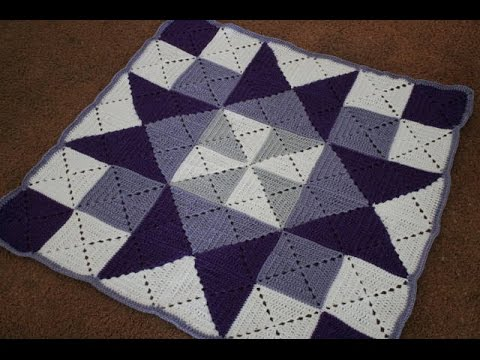 Crochet Stitches Granny Square Youtube : ... Crochet Granny Square Tutorial, and Baby Blanket Pattern - YouTube