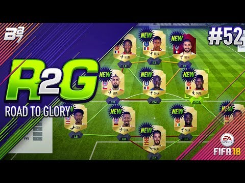 ROAD TO GLORY! THE NEW TEAM! #52 | FIFA 18 ULTIMATE TEAM