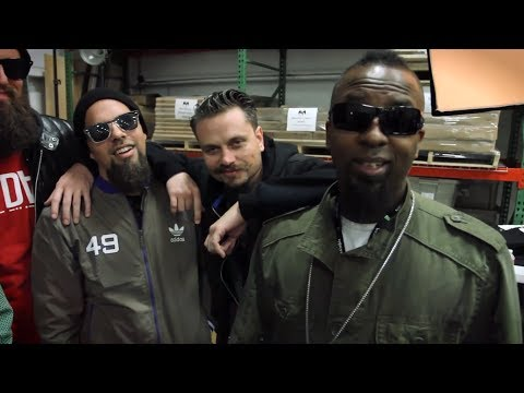Tech N9ne and ¡MAYDAY! Talk Hostile Takeover 2012