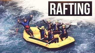 Gambar cover WHITEWATER RAFTING in Rotorua Neuseeland / New Zealand   Kaituna River