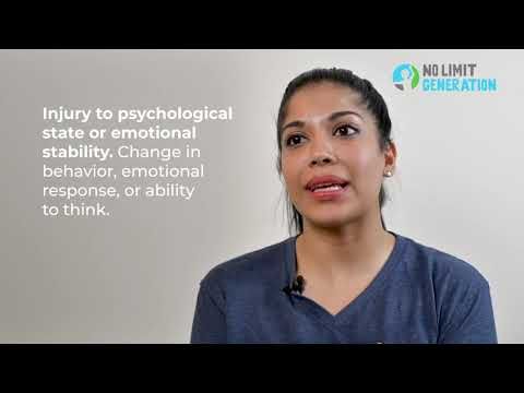 Warning signs of emotional, physical and sexual abuse