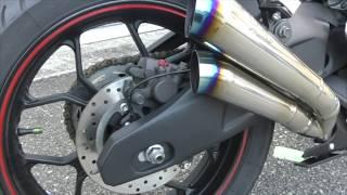 かっさんバイクの部屋「2本出しのこのバイクの登場です」 thumbnail