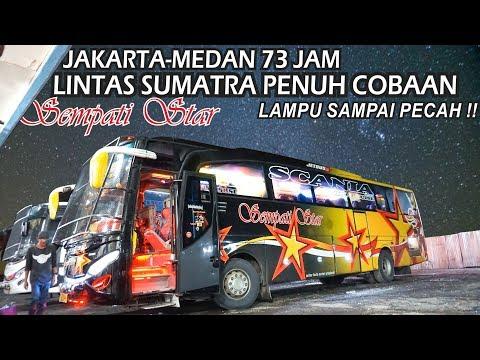 KERASNYA LINTAS SUMATRA    LAMPU SAMPAI PECAH    Trip Sempati Star Jakarta - Medan 4 Hari 3 Malam.