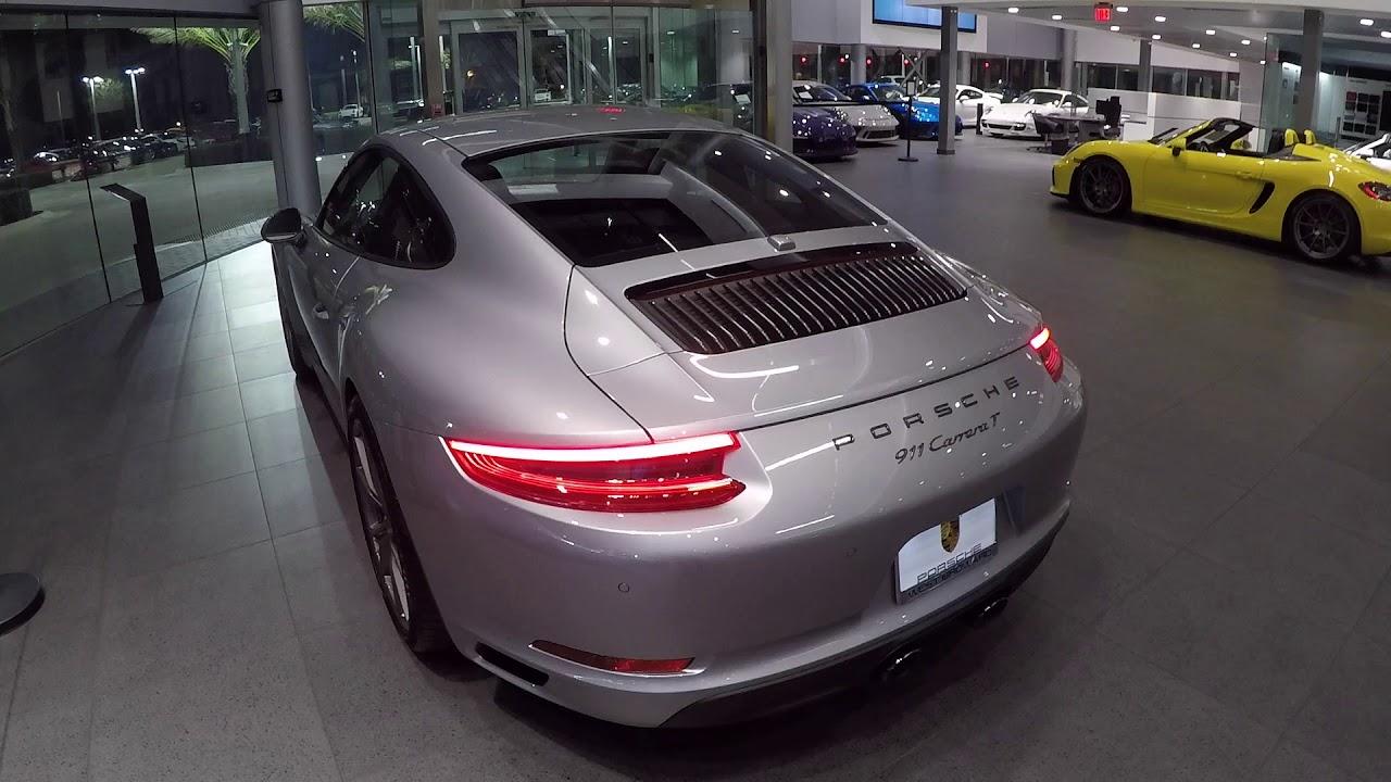 2018 GT Silver Porsche 911 Carrera T 370 hp @ Porsche West Broward  Porsche T on black porsche 911, old porsche 911, first porsche 911, hot wheels porsche 911, green porsche 911, orange porsche 911, gold porsche 911, future porsche 911, purple porsche 911, red porsche 911,