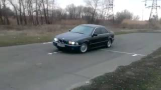 BMW 520i акпп  дрифт