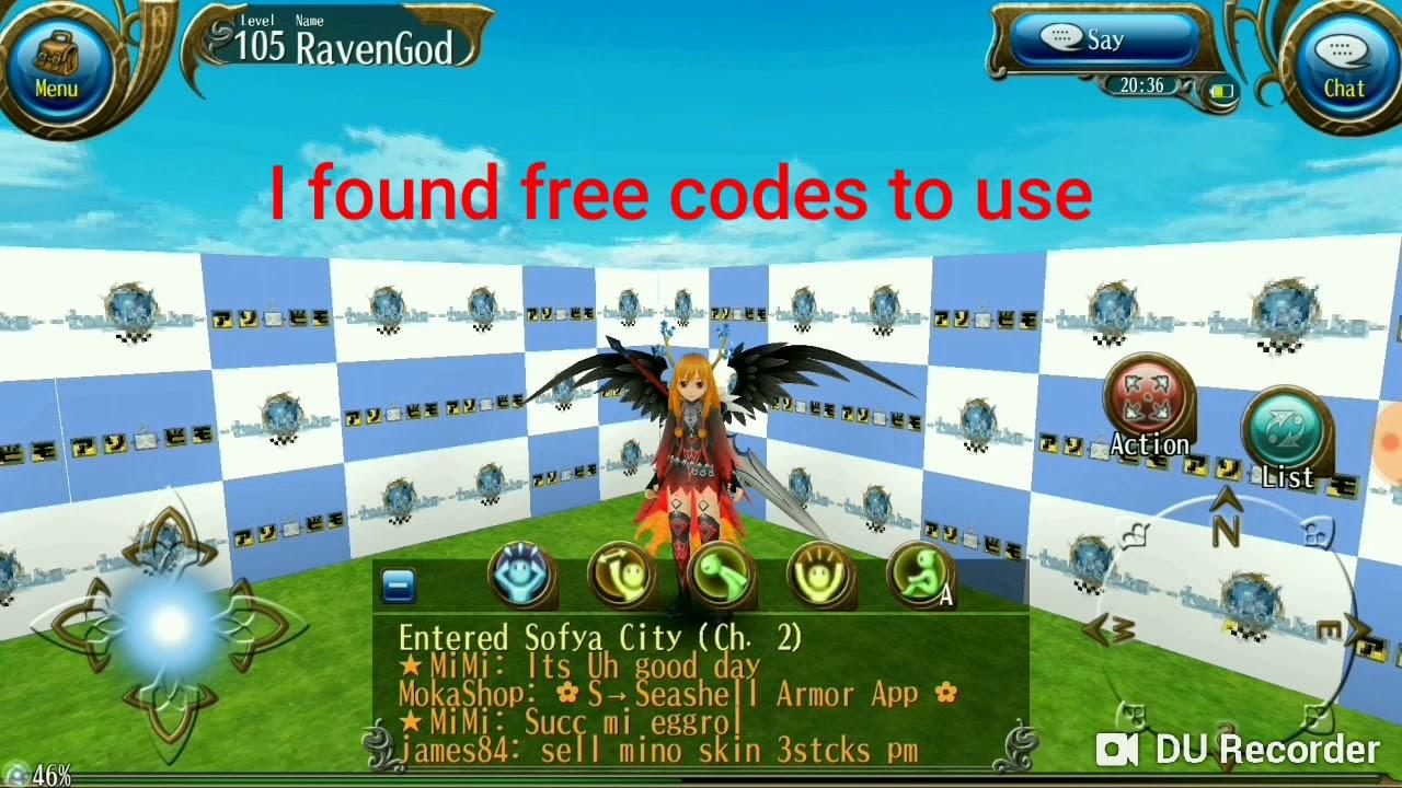 Free serial codes toram online