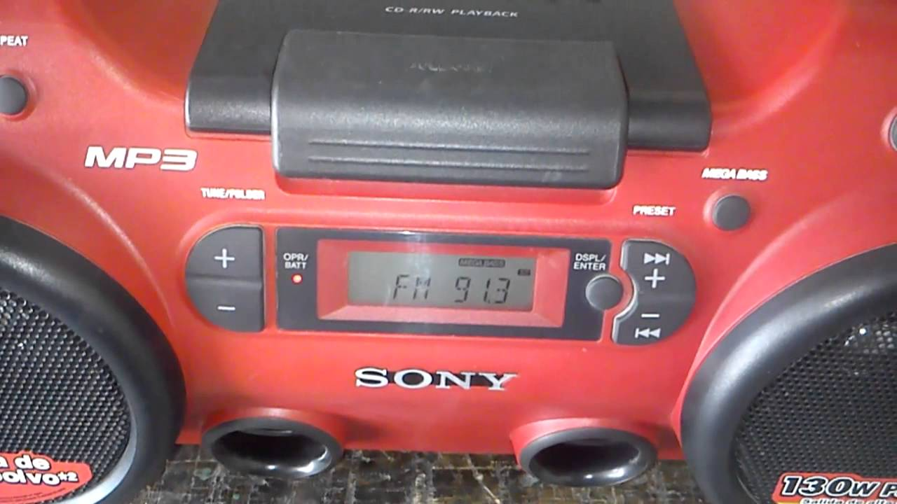 Radio Grabadora Sony Zs-h20cp