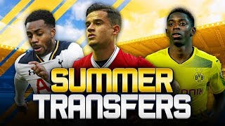 SUMMER TRANSFERS! w/ COUTINHO SUBMITS TRANSFER REQUEST! - FIFA 18 ULTIMATE TEAM
