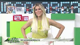 RENATO GAÚCHO ZOA RENATA FAN após vitória no Grenal