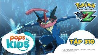 Pokémon Tập 310 - Satoshi-Gekkoga VS Yukinooh Mega! - Hoạt Hình Pokémon Tiếng Việt S19 XYZ