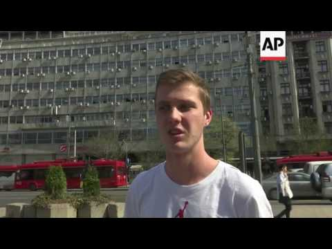 Belgrade residents on US visa screening