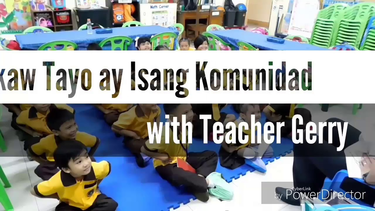 SONGS ABOUT COMMUNITY | Teacher Gerry