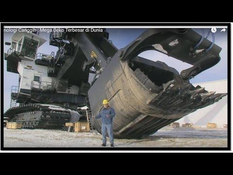 Teknologi Canggih : Mega Beko Terbesar di Dunia